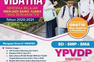 Mari Bergabung dengan SMP Vidatra, Sekolah Sang Juara!