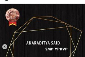 Siswa Baru Harumkan Nama SMP YPVDP
