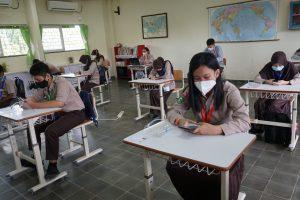 Ujian Sekolah Bersama SMP Vidatra Dilaksanakan Tatap Muka